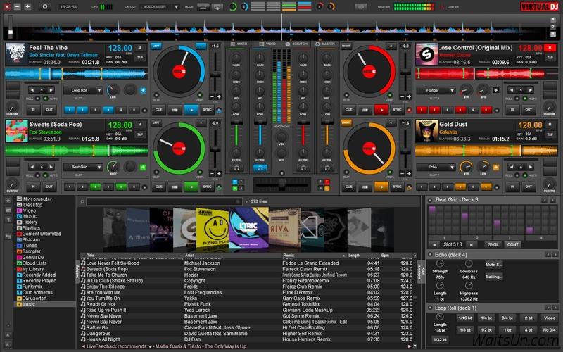 VirtualDJ 8.3.4459 Mac 破解版 – 优秀的DJ制作播放工具-麦氪派