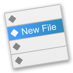 New File Menu for Mac 1.3.1 破解版 – Finder右键新建文件工具