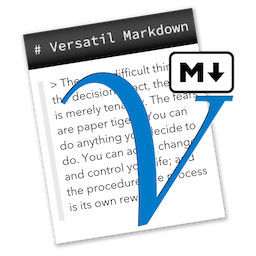 Versatil Markdown for Mac 2.0.10 注册版 – 文本编辑器