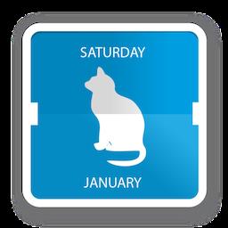 Cal Cat for Mac 1.9 破解版 - 喵星人最爱的猫咪日历