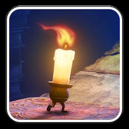 Candleman: The Complete Journey for Mac 1.0 破解版 – 一根只能燃烧十秒钟的小蜡烛人