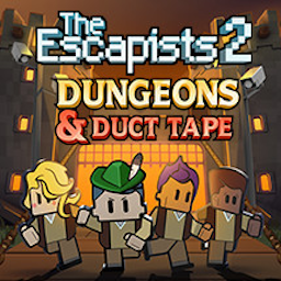 The Escapists 2 – Dungeons and Duct Tape for Mac 激活版 – 越狱题材动作冒险游戏