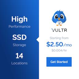【Vultr 限时促销】新用户注册,充25美元送50美元