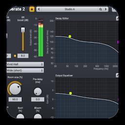 Acon Digital Verberate 2 Mac 破解版 音质混响插件