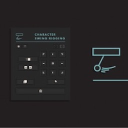 Character Swing Rigging Mac 破解版 AE骨骼绑定MG动画脚本
