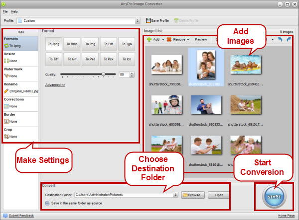 AnyPic Image Converter 图像批量转换工具┆ 注册码