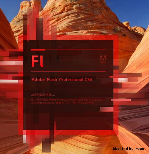 Adobe Flash Professional CS6 简体中文版 + 破解