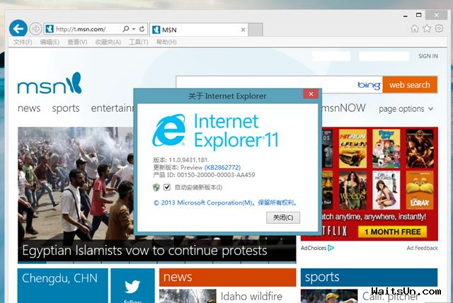 Windows 8.1 简体中文/英文标准版/专业版/企业版32位/64位RTM正式版下载