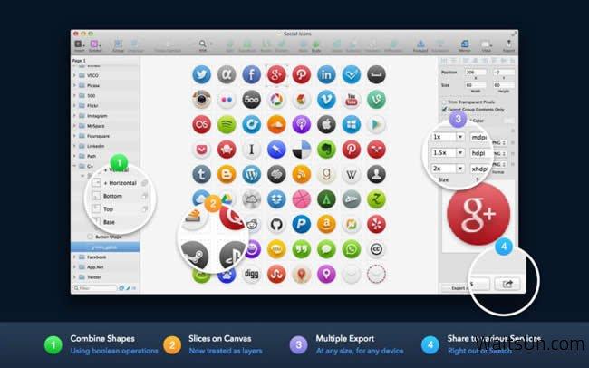 Sketch 3 for Mac 3.3.1 破解版 – Mac上专业的矢量绘图工具-麦氪派