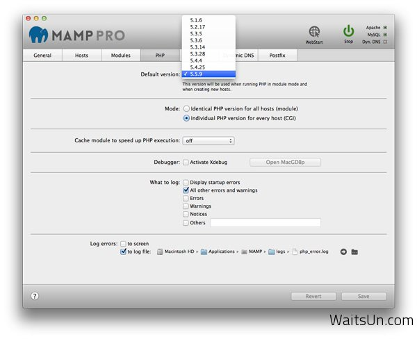 MAMP Pro for Mac 3.1 破解版 – 快速安装PHP/MySQL开发环境-麦氪派(WaitsUn.com)