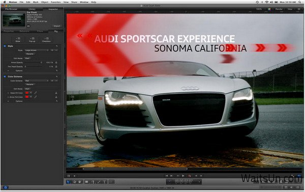 Apple Motion for Mac 5.2.3 破解版 - Final Cut Pro 字幕、转场和效果特效软件