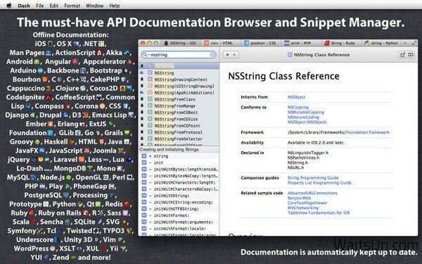 Dash for Mac 2.2.4 Full Version 破解版 – 最好用的 API 文档管理工具-麦氪派(WaitsUn.com | 爱情守望者)
