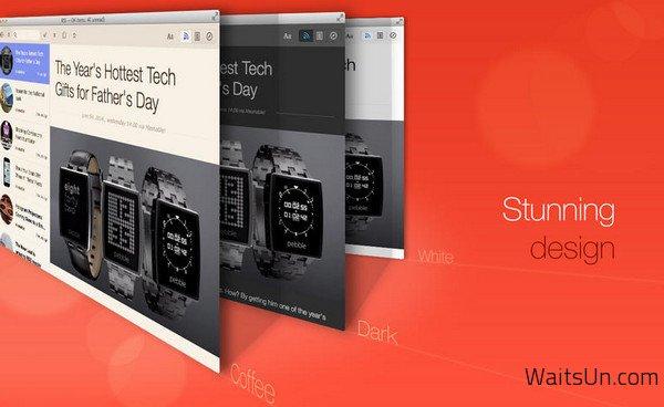 Leaf for Mac 4.6 破解版下载 – Mac上优秀的RSS阅读器
