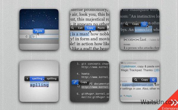 PopClip for Mac 1.5.3 中文破解版 – 增强型复制粘贴工具