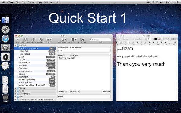 aText for Mac 2.18 破解版 – Mac上效率的文字快速补全输入增强工具